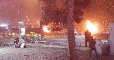 انفجار يهز وسط مدينة ديار بكر جنوب شرق تركيا
