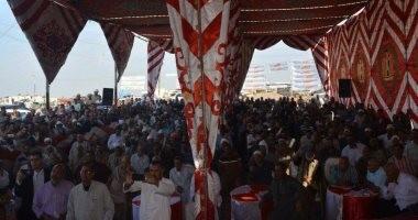 بالصور.. وكيل البرلمان يرعى مؤتمرا جماهيريا ببورسعيد لمطالبة السيسى بالترشح