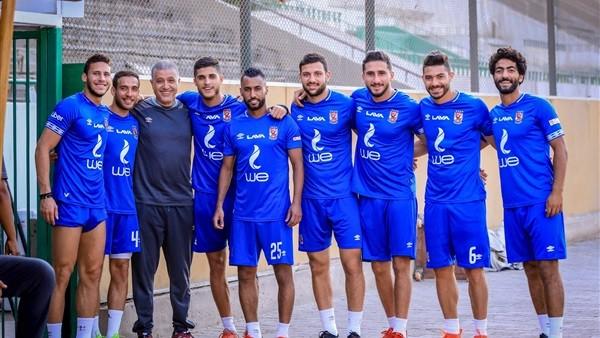 شاهد.. محمد محمود يشارك في التدريب البدني لفريق الأهلي