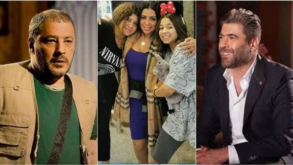 نشرة الفن.. ابنة رانيا يوسف بدون بنطلون.. وقُبلة لـ وائل كفوري من معجبة