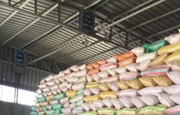 ضبط 32 طن أرز بحوزة تاجر غلال في كفر الشيخ