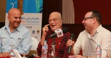حسن حسنى عن مهرجان شرم الشيخ: بدأ كبيرا وفى دورته العاشرة سيكون عملاقا