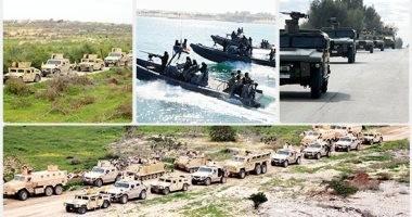 ننشر نص بيان القوات المسلحة رقم 15 للعملية الشاملة سيناء 2018