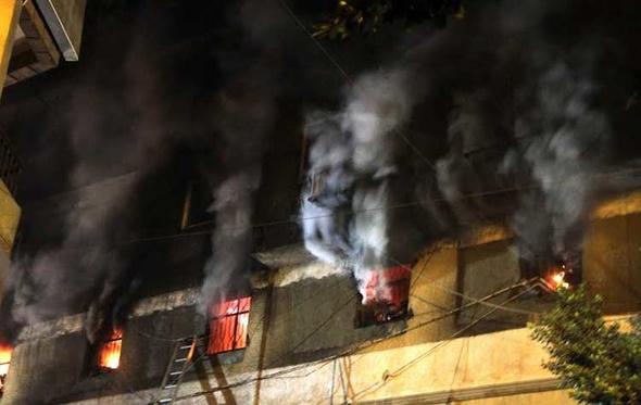 معاينة النيابة تكشف سبب حريق مخزن الورق بالفجالة