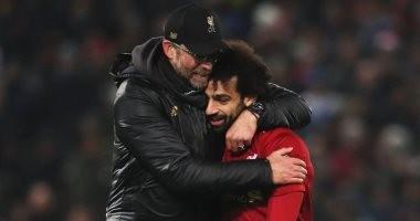كلوب: محمد صلاح أفضل لاعب في مباراة ليفربول وبيرنلي