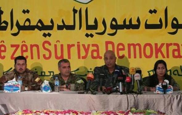 قوات سوريا الديمقراطية تعلن بدء عملية تحرير الرقة