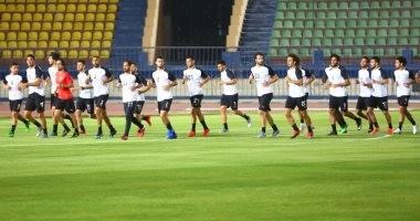 صور.. منتخب مصر يختتم تدريباته استعدادا لأوغندا غدا
