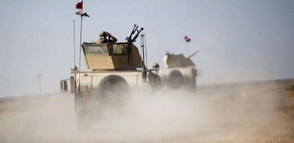 """تقدم الحملتين العسكريتين تجاه معقلي """"داعش"""" في سوريا والعراق"""