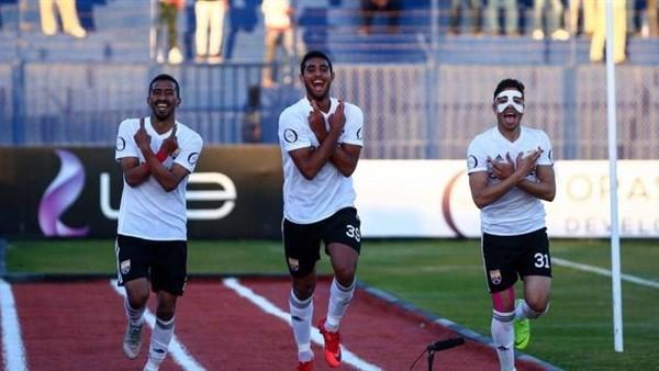 أحمد ياسر ريان بعد هدفه بالزمالك لـ عماد متعب: خلصت تمام يا عمدة