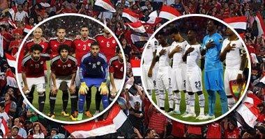 """الليلة.. مصر تستطلع """"هلال"""" المونديال أمام غانا فى برج العرب"""