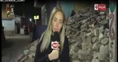 ريهام سعيد تعرض تقريرا عن تنقيب المواطنين عن الآثار فى المنازل