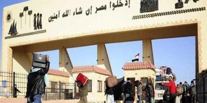 عودة 377 مصريا من ليبيا وعبور 209 شاحنات عبر منفذ السلوم