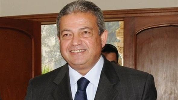 وزير الرياضة يهنئ منتخب الكرة الطائرة بالفوز بالبطولة العربية