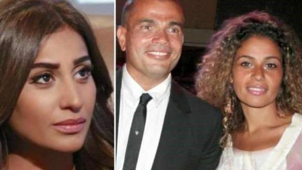 عمرو دياب لا يتنازل عن مواصفاته.. 5 أوجه للشبه بين دينا الشربينى وزوجة الهضبة زينة عاشور