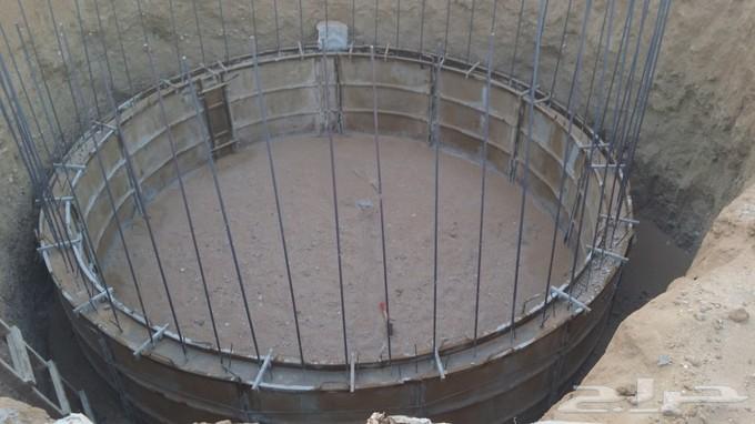 إنشاء خزان للمياه بعرب الجهمة بالقوصية