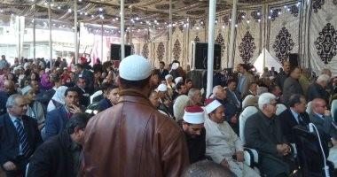 شباب صان الحجر بالشرقية يعلنون تأيدهم للسيسي بمؤتمر حاشد