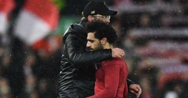 كلوب يعلن غياب محمد صلاح عن مباراة ليفربول وبرشلونة غداً