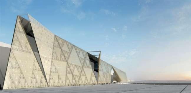 """المتحف المصري الكبير.. هنا يستقر الملك """"مرنبتاح"""" بصحبة 100 قطعة أثرية"""