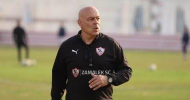 تعرف على تفاصيل جلسة جروس مع لاعبي الزمالك استعدادًا لبطل الجزائر