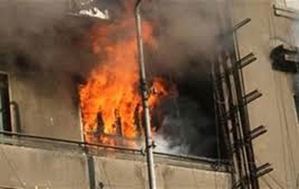 إصابة طفل إثر نشوب حريق بإحدى الشقق السكنية بالإسكندرية