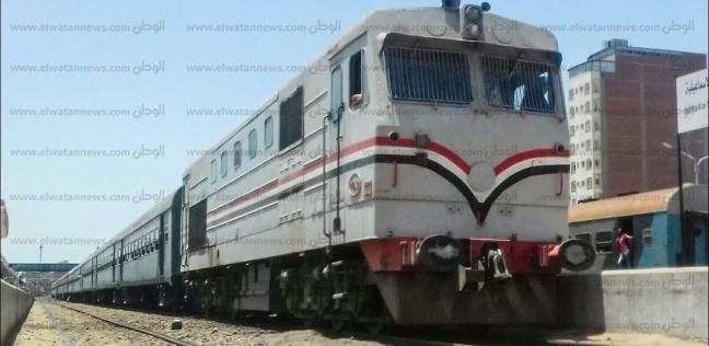 """""""السكة الحديد"""": انحدار جرار على رصيف 6 بـ""""محطة مصر"""" سبب الحريق"""
