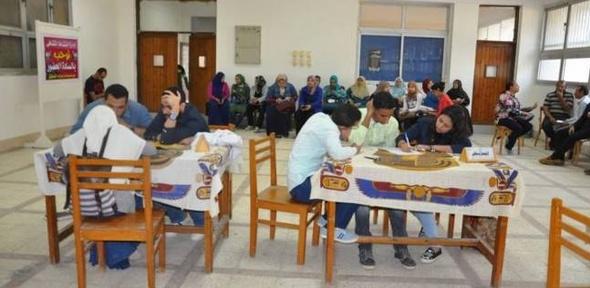 فوز كلية التربية بكأس دوري المعلومات بجامعة المنيا