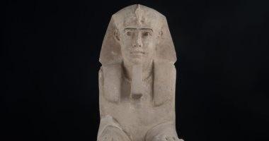 الآثار: تمثال أبو الهول المصغر يرجع للعصر البطلمى ويستخدم لحراسة المعبد