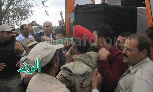 طلاب المدارس يشاركون في تشييع جثمان شهيد عزبة ممتاز بالدقهلية