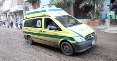 سقوط سيدة من أعلى عقار بعد انهيار شرفة شقتها فى الإسكندرية