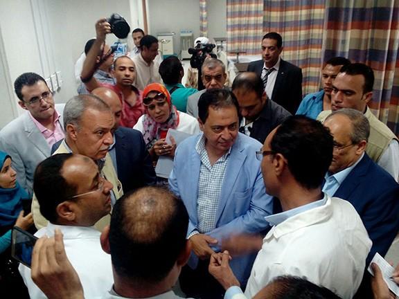 وزير الصحة يفتتح مستشفى سمنود المركزي بتكلفة 115 مليون جنيه