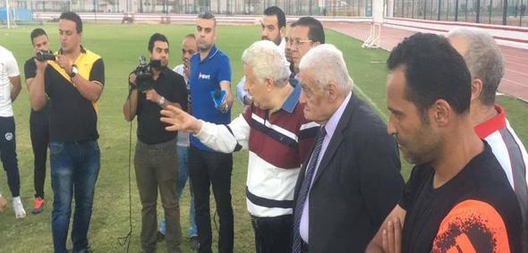 مرتضى منصور يطالب فريقه باستغلال تعثر الأهلي