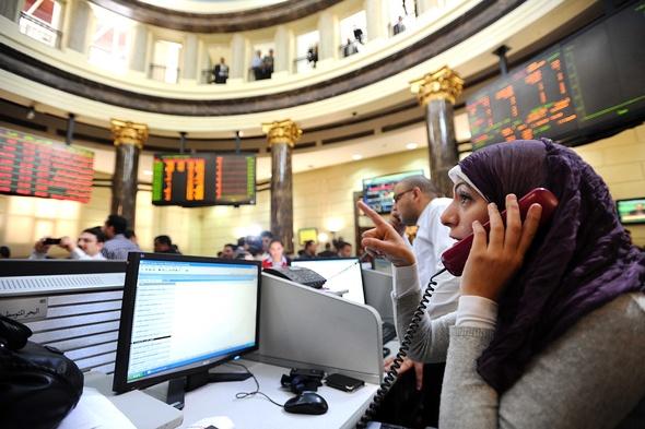 اسهم مصر فوق 10 الاف نقطة بدعم من مشتريات المؤسسات الاجنبية