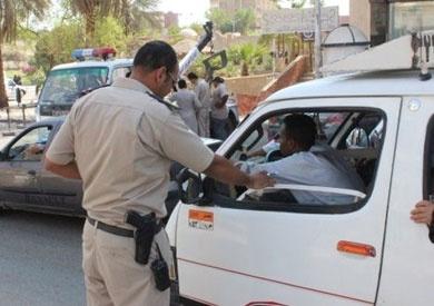 ضبط 50 سائقا تحت تأثير المخدر و3 آلاف مخالفة مرورية ببني سويف