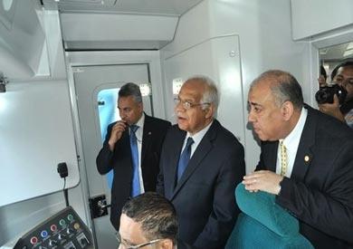وزير النقل يعلن تشغيل قطار المترو الأخير في اتفاقية «روتم الكورية»
