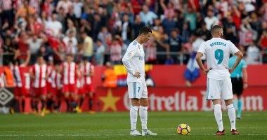 شاهد.. ريال مدريد يتلقى هزيمة مفاجئة أمام جيرونا فى الدوري الإسباني