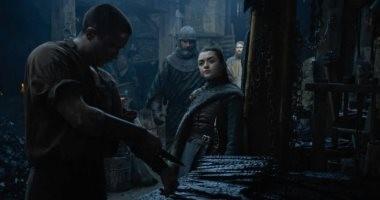 Game of thrones.. مشهد Arya وthe Night King يبهر الجمهور.. فيديو وصور
