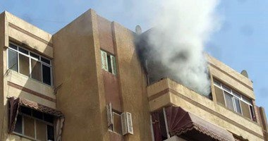 السيطرة على حريق بشقة محام بسوهاج بسبب ماس كهربائى دون خسائر بالأرواح