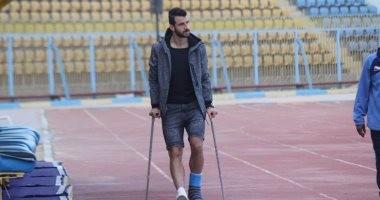 الأشعة تثبت إصابة محمود متولى بتمزق فى الخلفية ويغيب عن الأهلى 6 أسابيع