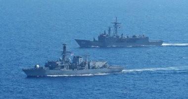 البحرية المصرية تنفذ تدريبات عابرة مع قوات إيطاليا واليونان وكوريا الجنوبية..صور