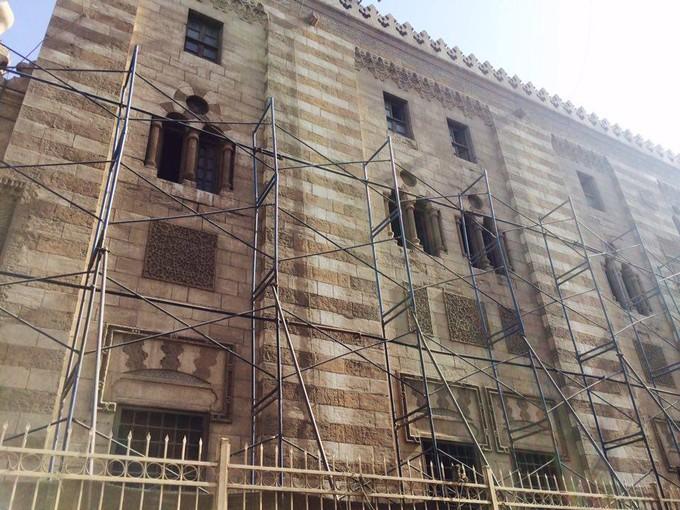 المشرف الأثري على ترميم الأزهر: حافظنا على جميع المعالم الأثرية للمسجد