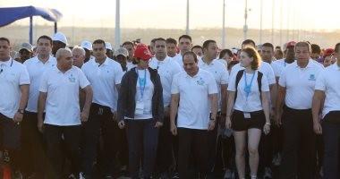 السيسي لشباب العالم: تحدثوا عما وجدتموه من تفاهم وتسامح بأرض السلام