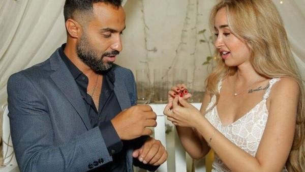 شاهد.. رقصة الـ First Dance لـ احمد فهمى وهنا الزاهد فى حفل زفافهما
