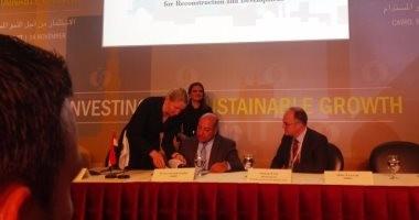 البنك الأوروبى وبنك الإسكندرية يمولان دعم الطاقة المتجددة بـ 30 مليون دولار