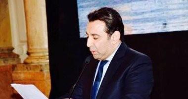 السفير أشرف منير يلقى سلسلة محاضرات عن فن البرتوكول بمعهد الأهرام