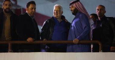 جلسة بين تركي آل الشيخ ومجلس الزمالك في مكتب مرتضي منصور