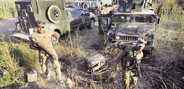 الجيش العراقي يقتحم حي الانتصار في الموصل