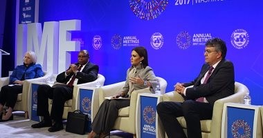 سحر نصر تعرض قصة نجاح مصر فى تحسين مناخ الاستثمار أمام صندوق النقد
