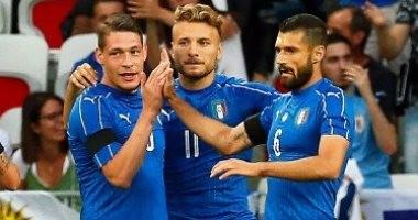 إيطاليا فى المستوى الأول بقرعة الملحق الأوروبى