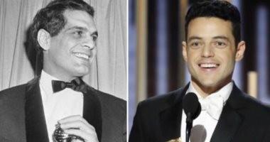 """""""الأصل مصرى"""".. رامى مالك يحقق نفس جائزة عمر الشريف بعد 53 عاما.. فيديو وصور"""