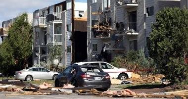 """صور.. مسئول كندى يشبه أحياء أوتاوا بـ""""ساحة حرب"""" بسبب الإعصار"""